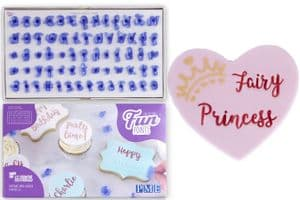 PME Fun Fonts: Cupcakes & Cookies, Alphabet & Numbers