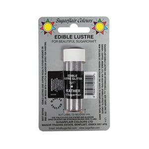 Sugarflair Edible Lustre Glitter 2g: Heather