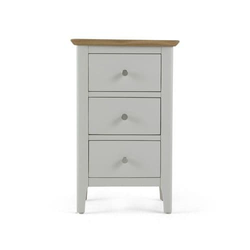 Aston Painted 3 Drawer Bedside