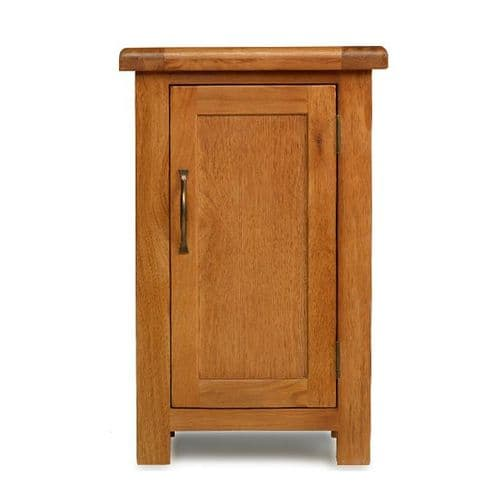 Bradley Oak 1 Door Cabinet