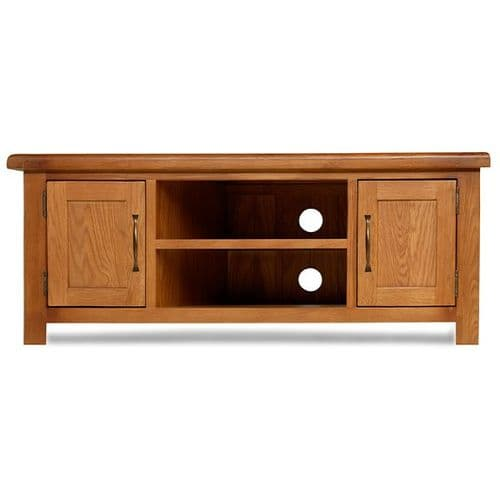 Bradley Oak Large TV Cabinet