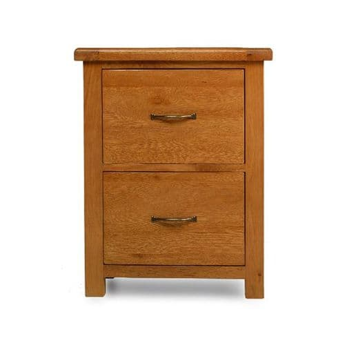 Bradley Oak Office Filing Cabinet