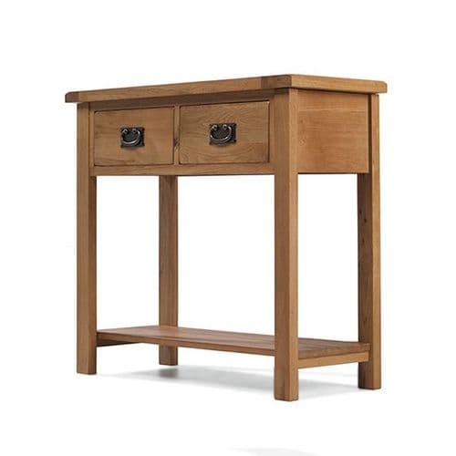 Loxley Oak Console Table