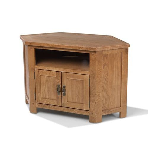 Loxley Oak Corner TV Unit