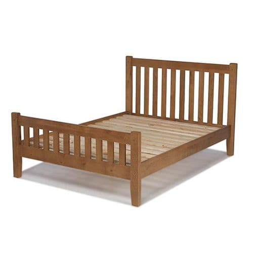 Loxley Oak Double Bed