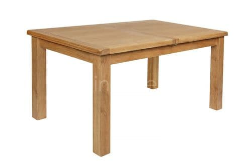 Loxley Oak Extending Rectangle Dining Table