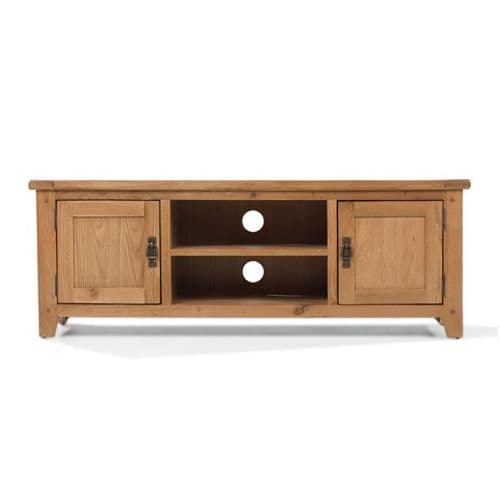 Loxley Oak Large TV video Unit