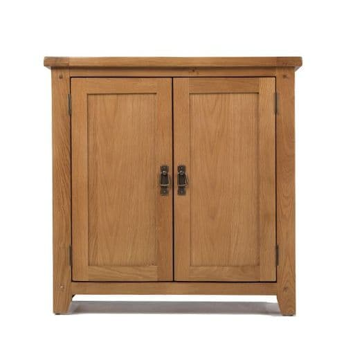 Loxley Oak Small 2 Door Cupboard