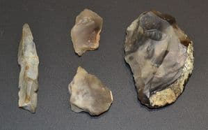 A nice little group of Neolithic flint tools found near Stowmarket, Suffolk (M18) SOLD