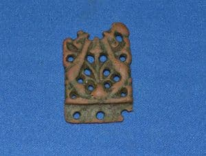 A pleasant and very ornately decorated Viking bronze