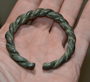 A superb, heavy and robust Celtic (Iron Age) ladies bronze