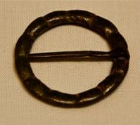 "An attractive Medieval bronze ""Ring"" brooch complete with pin. SOLD"