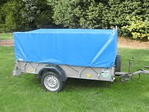 Ifor Williams GD64 Mesh Sided Trailer