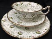 CAREWORN ROYAL DOULTON chintz trio