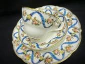 Coalport  afternoon tea trio - Victorian