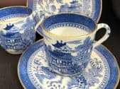 COPELAND Willow pattern espresso cans for two