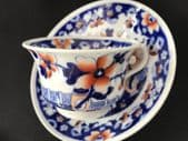HILDITCH 'Man with a basket of eggs' cup & saucer (1)