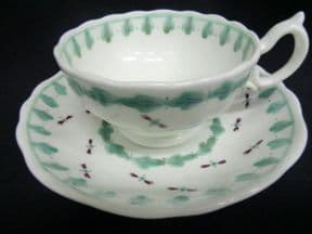 A simply decorated Hilditch cup & saucer