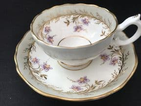 SOLD HILDITCH Gilded Nightshade cup & saucer (5)