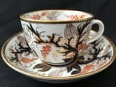 SOLD New Hall Bute cup & saucer Imari 446 pattern