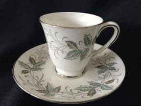 Tuscan china Rondelay espresso cup & saucer