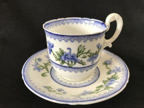 Worcester small coffee cup & saucer