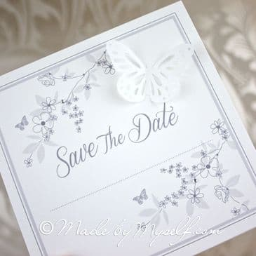 Butterfly Garden Save The Date