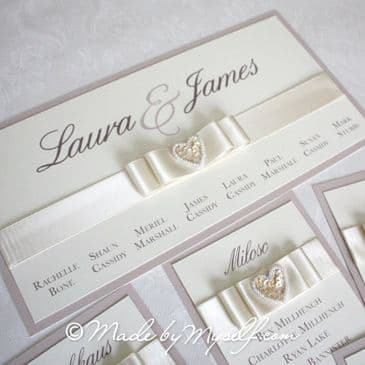 Isobella Table Plan Cards for you to mount yourself