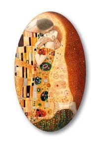 Klimt Lovers Crystal Magnet