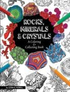 Rocks, Minerals and Crystals Coloring Book - Darryl Powell