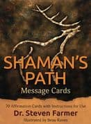 Shaman's Path Message Cards - Dr. Steven Farmer,  Beau Raven
