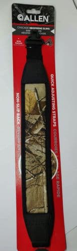 Allen Cascade Rifle Sling With QD Swivels - Realtree AP Xtra