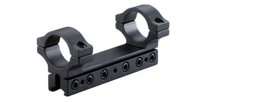 """BKL 260D7 1""""/25mm 1 Piece 4"""" Drop Compensating Mount for 3/8"""" and 11mm Dovetail"""