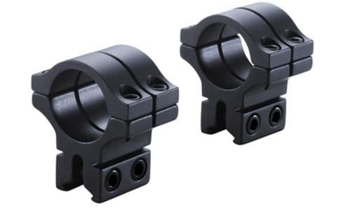"BKL 301 Double Strap 30mm 3/8""-11mm Dovetail Rimfire & Air Rifle Scope Mount Rings"