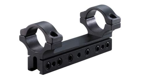 "BKL 460 1 piece 4"" Long Scope Mount Ring for 1"" Tube scopes on 14mm/BSA Maxigrip Dovetails"