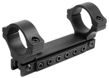 """BKL288 120 MOA Adjustable Rifle Scope HIGH Mount Ring 9-11mm Dovetail 1"""" Ring"""