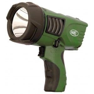 Clulite Clu-Briter 600m Rechargeable LED Hand Pistol Torch - Green
