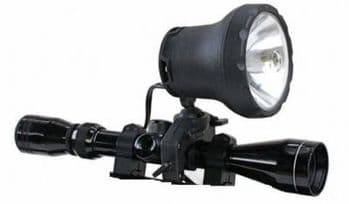 Clulite Shootalite 1000m Scope Mounted Rifle Lamp (No battery)