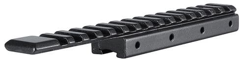 """Hawke Adapter 3/8"""" & 11m dovetail to Weaver Base & 11mm riser Extended top rail 22402"""