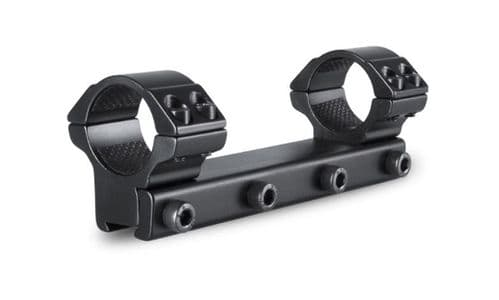 "Hawke Match 1""/25mm 1 PIECE - MEDIUM Rifle Scope Mount Ring - 9-11mm Airgun Rimfire base - 22104"