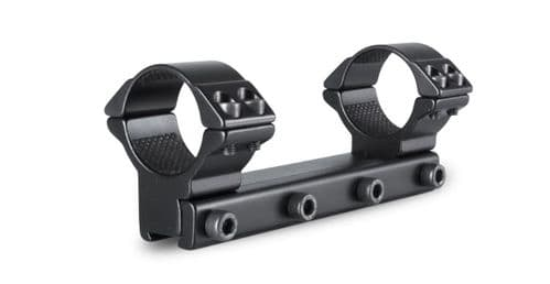Hawke Match 30mm 1 PIECE - HIGH Rifle Scope Mount Ring - 9-11mm Airgun Rimfire base - 22111