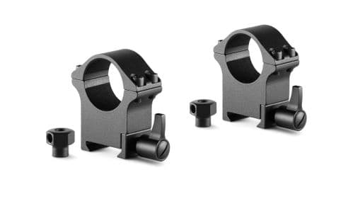 "Hawke Professional Steel Scope Mount Rings Weaver/Picatinny 1"" High 23102"