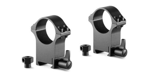 Hawke Professional Steel Scope Mount Rings Weaver/Picatinny 30mm Extra High 23108