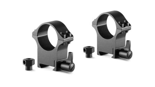 Hawke Professional Steel Scope Mount Rings Weaver/Picatinny 30mm High 23107