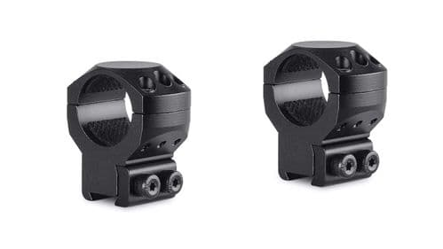 "Hawke Tactical Mounts 1"" 2pc 9-11mm Dovetail HIGH Scope Mount Rings 24102"