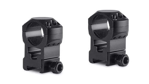"Hawke Tactical Mounts 1"" 2pc Weaver/Picatinny EXTRA-HIGH Scope Mount Rings 24113"