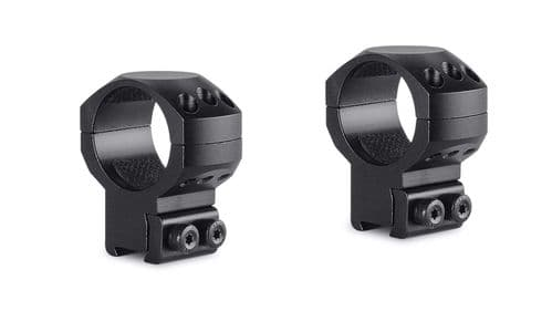 Hawke Tactical Mounts 30mm 2pc 9-11mm Dovetail HIGH Scope Mount Rings 24107