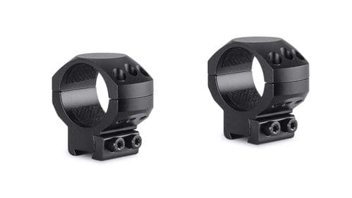 Hawke Tactical Mounts 30mm 2pc 9-11mm Dovetail MEDIUM Scope Mount Rings 24106