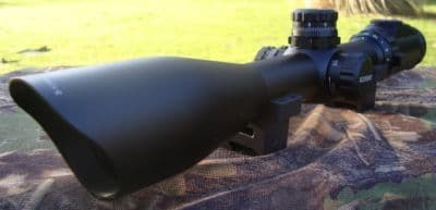 Leapers 3-12x44 30mm Side Focus Half MilDot 36 Colour IR Rifle Scope - SCP3-U312AOIEW