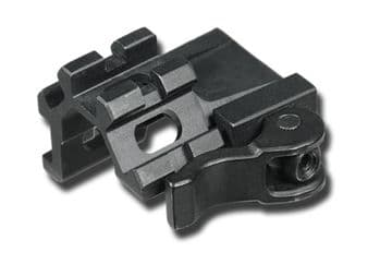 Leapers QD Lever Lock Quad-Rail Single Slot Angle Mount for Weaver Picatinny bases